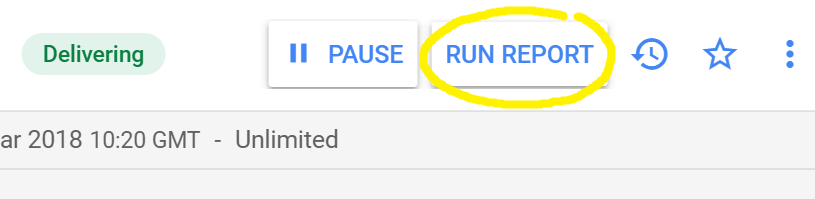 RUN REPORT button
