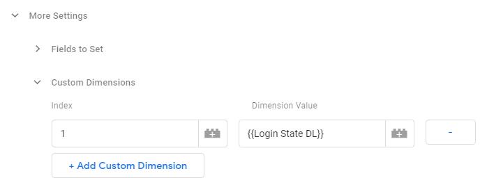 Custom Dimensions in GTM