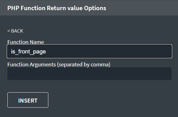 PHP Function Return value Options